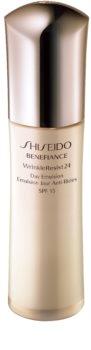 Shiseido Benefiance WrinkleResist24 Day Emulsion SPF15 emulsão antirrugas SPF 15
