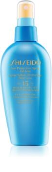 Shiseido Sun Care Protection sprej na opalování SPF 15