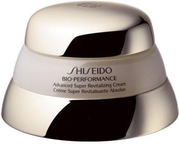 Shiseido Bio-Performance Advanced Super Revitalizing Cream crème de jour revitalisante et réparatrice anti-âge