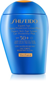 Shiseido Sun Protection lotiune solara pentru fata si corp SPF 50+