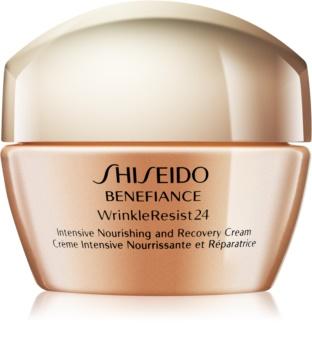 Shiseido Benefiance WrinkleResist24 intenzív tápláló krém a ráncok ellen
