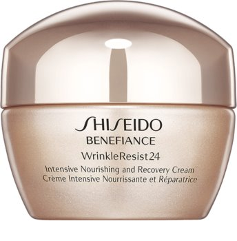 Shiseido Benefiance WrinkleResist24 Intensive Nourishing and Recovery Cream crema nutriente intensa antirughe