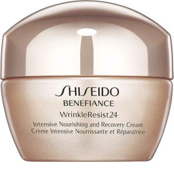 Shiseido Benefiance WrinkleResist24 Intensive Nourishing and Recovery Cream intensive nährende Creme gegen Falten