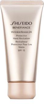 Shiseido Benefiance WrinkleResist24 Protective Hand Revitalizer creme restaurador e protetor  para mãos SPF 15