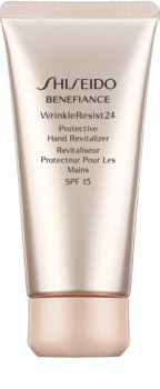 Shiseido Benefiance WrinkleResist24 Protective Hand Revitalizer SPF15 відновлюючий та захисний крем для рук SPF 15