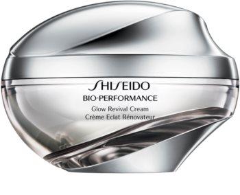 Shiseido Bio-Performance Glow Revival Cream multiaktivna krema protiv bora za sjaj i zaglađivanje kože lica