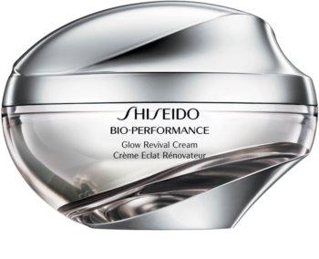 Shiseido Bio-Performance Glow Revival Cream мульти-активний крем проти зморшок для розгладження та роз'яснення шкіри