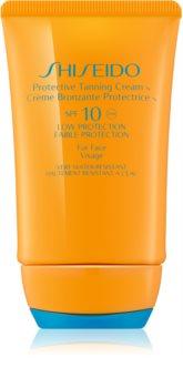 Shiseido Sun Protection Zonnebrandcrème voor Gezicht  SPF 10