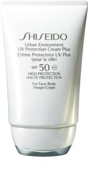 Shiseido Sun Care Urban Environment UV Protection Cream Plus hidratáló védőkrém SPF 50