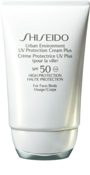 Shiseido Sun Protection хидратиращ защитен крем SPF 50