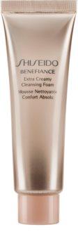 Shiseido Benefiance WrinkleResist24 Extra Creamy Cleansing Foam jemná čisticí pěna s hydratačním účinkem