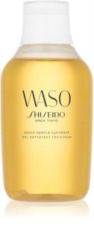 Shiseido Waso Quick Gentle Cleanser čisticí a odličovací gel bez alkoholu