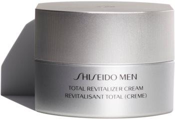Shiseido Men Total Revitalizer Cream revitalisierende und erneuernde Creme   gegen Falten