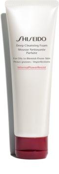 Shiseido Generic Skincare Deep Cleansing Foam Dieptereinigende Schuim  voor Vette en Problematische Huid