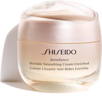 Shiseido Benefiance Wrinkle Smoothing Cream Enriched denní a noční krém proti vráskám pro suchou pleť