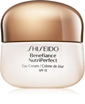 Shiseido Benefiance NutriPerfect Day Cream omlazující denní krém SPF 15
