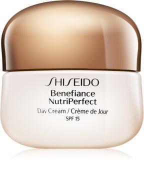 Shiseido Benefiance NutriPerfect Day Cream SPF15 ανανεωτική κρέμα ημέρας SPF 15