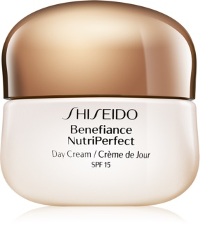 Shiseido Benefiance NutriPerfect Day Cream SPF15 verjüngende Tagescreme LSF 15