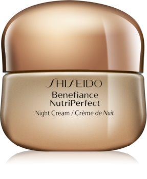 Shiseido Benefiance NutriPerfect creme de noite revitalizante antirrugas