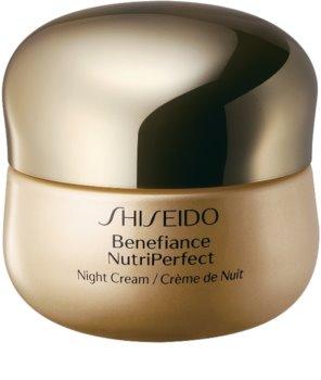 Shiseido Benefiance NutriPerfect Night Cream revitalizáló éjszakai krém a ráncok ellen