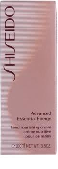 Shiseido Body Advanced Essential Energy revitalizáló krém kézre