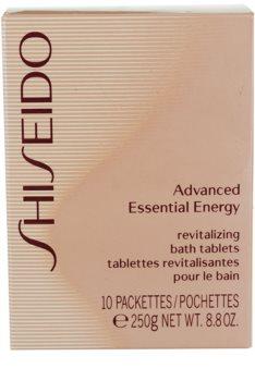 Shiseido Body Advanced Essential Energy tablety do koupele