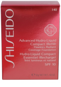 Shiseido Base Advanced Hydro-Liquid зволожуючий компактний тональний засіб SPF 10