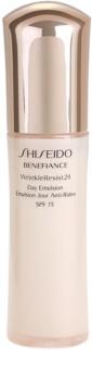 Shiseido Benefiance WrinkleResist24 emulsión antiarrugas SPF15