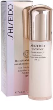Shiseido Benefiance WrinkleResist24 emulsie anti-imbatranire SPF 15
