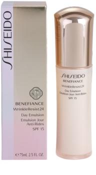 Shiseido Benefiance WrinkleResist24 emulsão antirrugas SPF 15