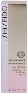 Shiseido Benefiance WrinkleResist24 ránctalanító emulzió SPF 15