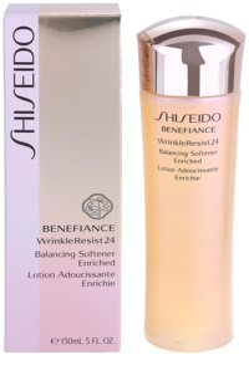 Shiseido Benefiance WrinkleResist24 зволожуючий тонік проти зморшок