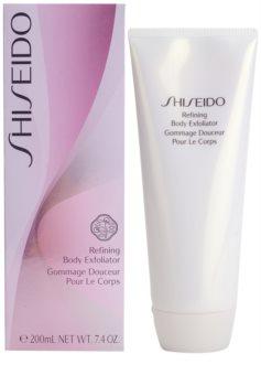 Shiseido Body telový peeling s hydratačným účinkom