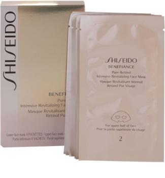 Shiseido Benefiance intenzív revitalizáló maszk a fiatalos kinézetért