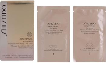 Shiseido Benefiance Masca revitalizanta intensivă pentru un aspect intinerit