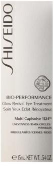 Shiseido Bio-Performance Anti-Falten Augencreme gegen Schwellungen und Augenringe