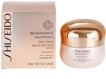 Shiseido Benefiance NutriPerfect подмладяващ дневен крем SPF 15