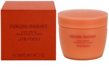 Shiseido Energizing Fragrance krem do ciała dla kobiet 200 ml