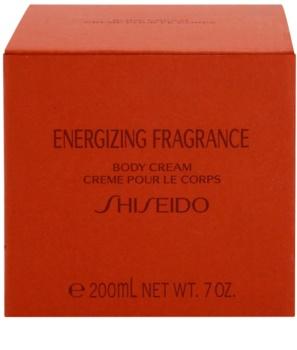 Shiseido Energizing Fragrance crème corps pour femme 200 ml