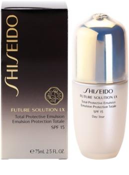 Shiseido Future Solution LX schützende Tagesemulsion LSF 15