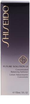 Shiseido Future Solution LX Feuchtigkeitstonikum strafft die Haut und verfeinert Poren