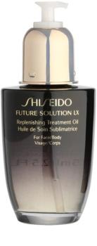 Shiseido Future Solution LX ulei corp si fata
