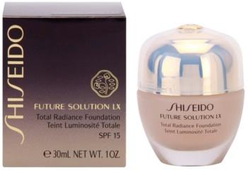 Shiseido Future Solution LX rozjasňující make-up SPF 15