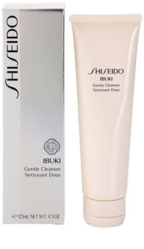 Shiseido Ibuki delikatna pianka do demakijażu głęboko oczyszczające