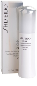 Shiseido Ibuki crema hidratante y protectora SPF15