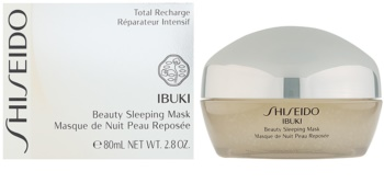 Shiseido Ibuki éjszakai maszk a szebb bőrért