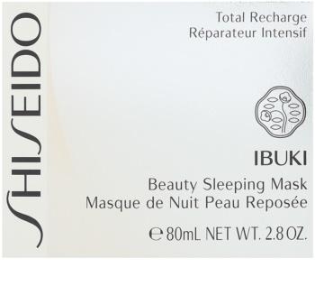 Shiseido Ibuki Masca de noapte pentru infrumusetarea pielii