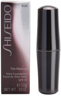 Shiseido Base The Makeup fond de teint hydratant stick SPF 15