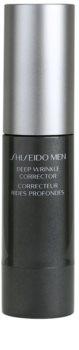 Shiseido Men Total Age-Defense creme intensivo  para correção de rugas