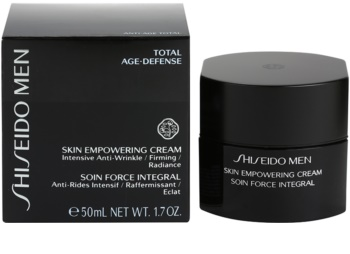 Shiseido Men Total Age-Defense creme restaurador para pele cansada